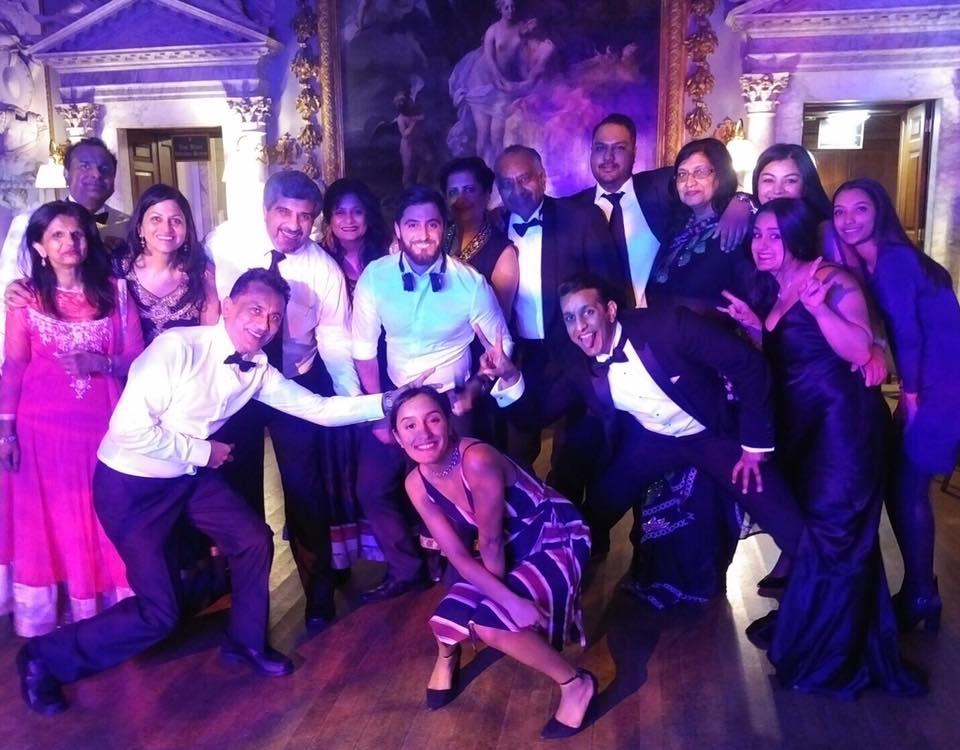 DJ & Host - Edgeware Masonic Lodge 2017 Ladies Night @ Moor Park Golf Club