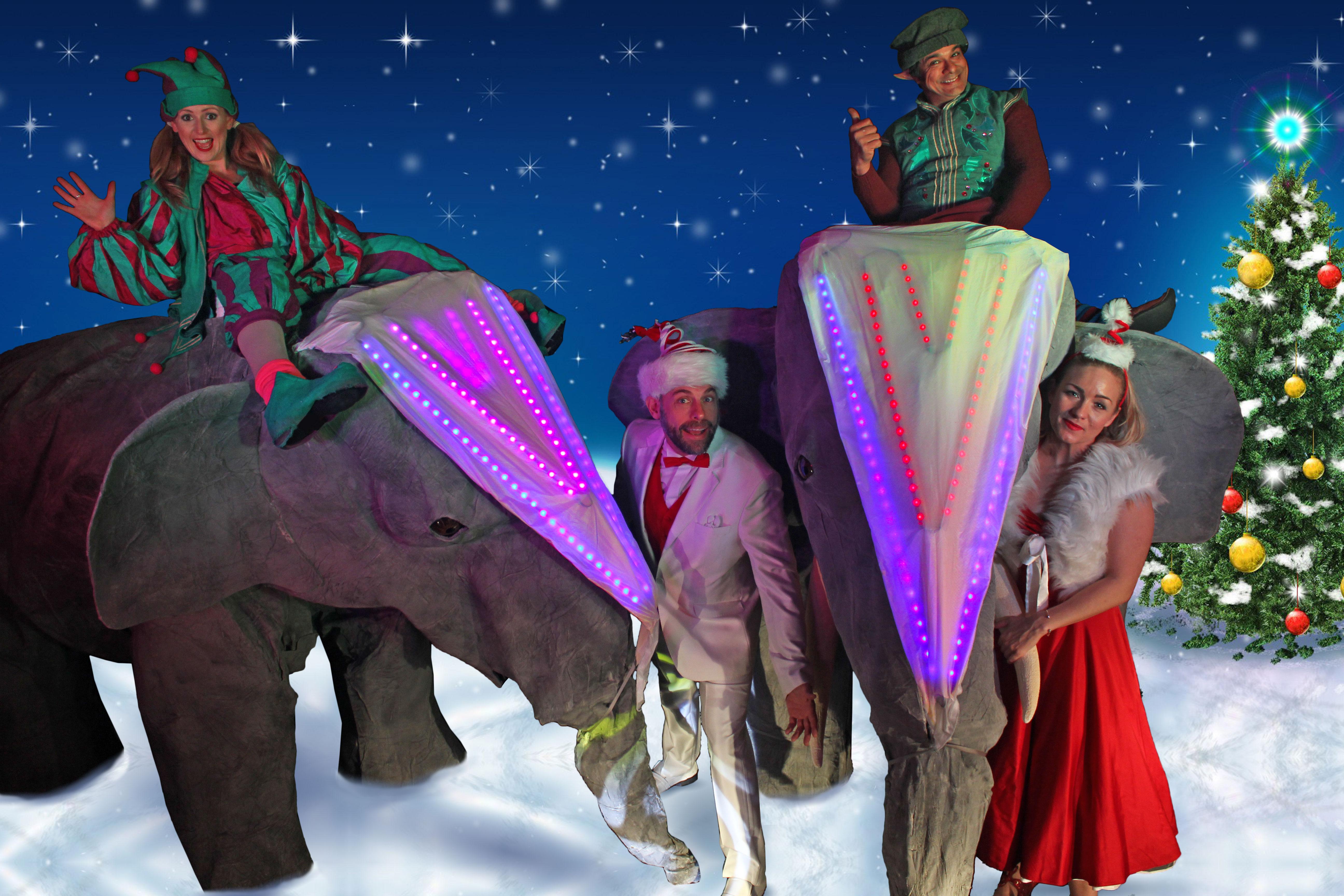 Christmas theme elephants with LED_4943_Web-Size