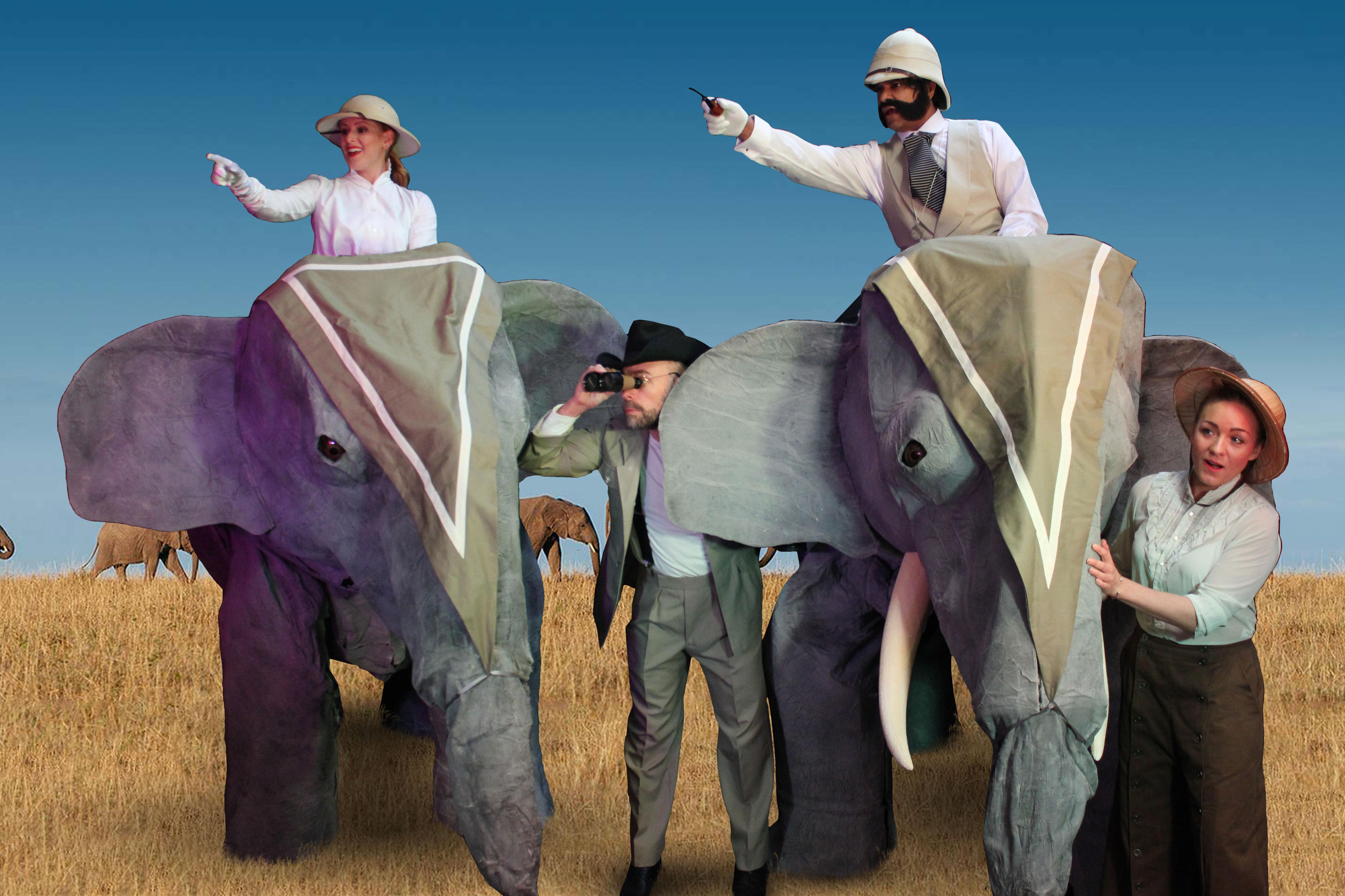 On Safari Elephants Blue sky ING_4822_Web-Size