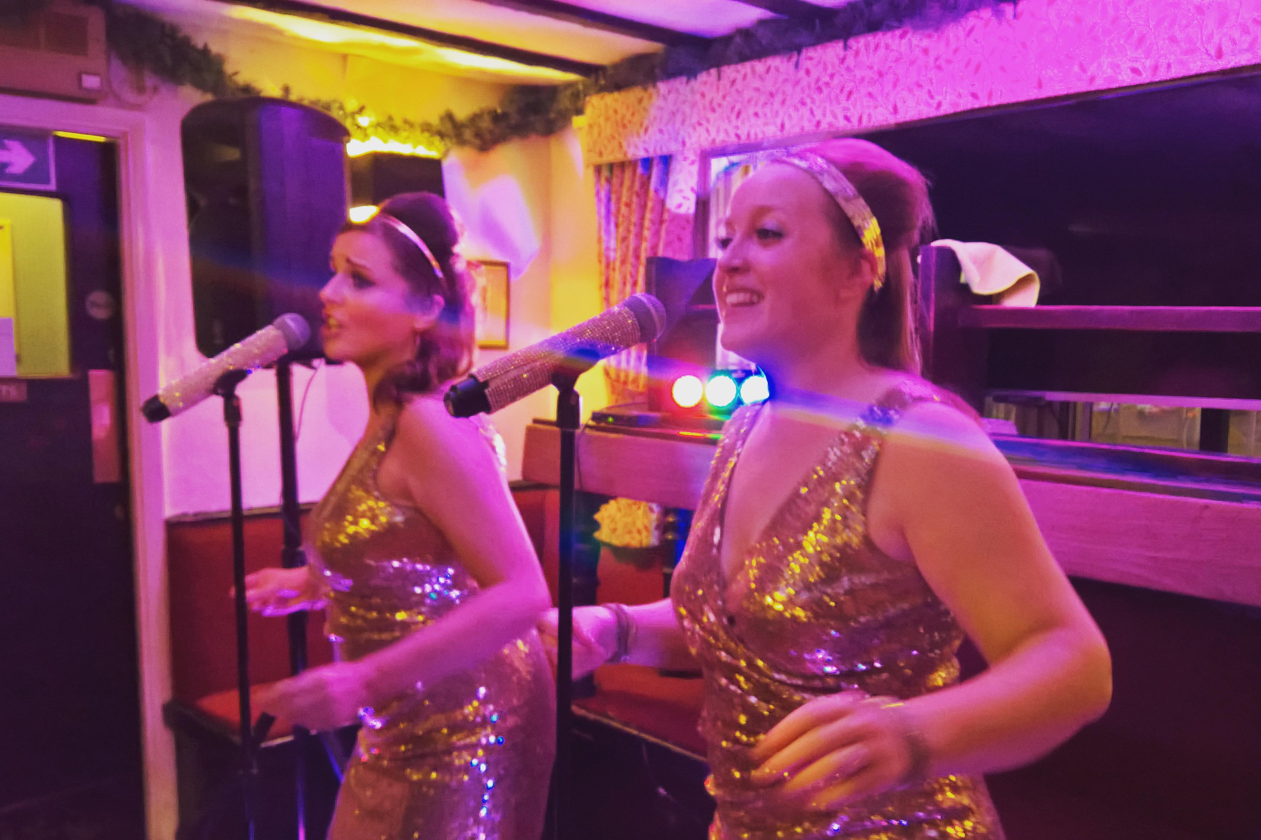 UK BAND-Estrellas Group performing