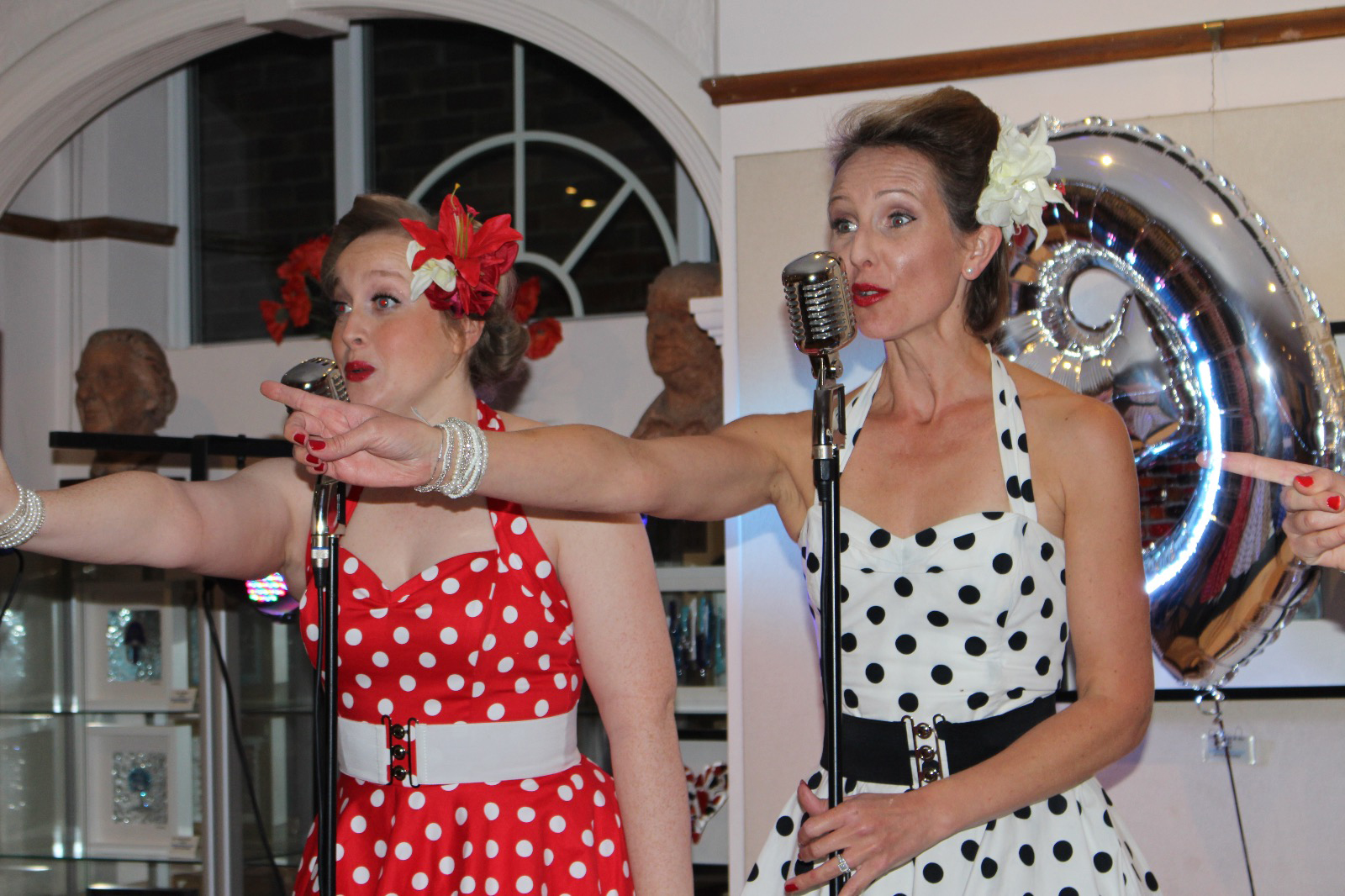 UK BAND-Polka Dots at Birthday Party