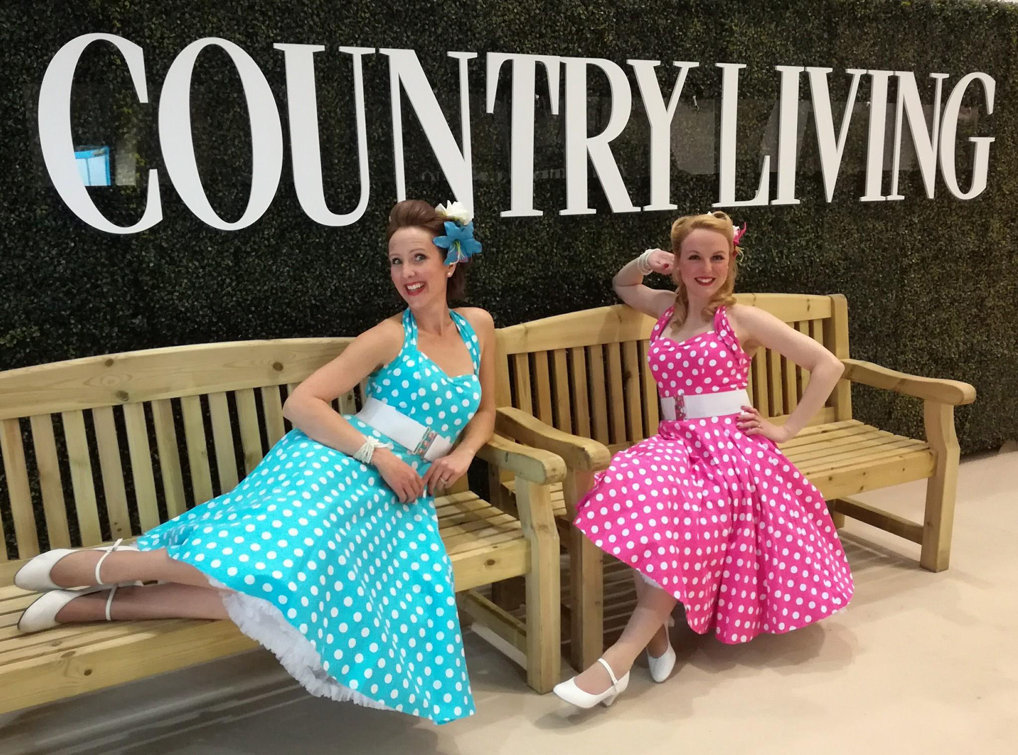 UK BAND-Polka Dots at Country Living