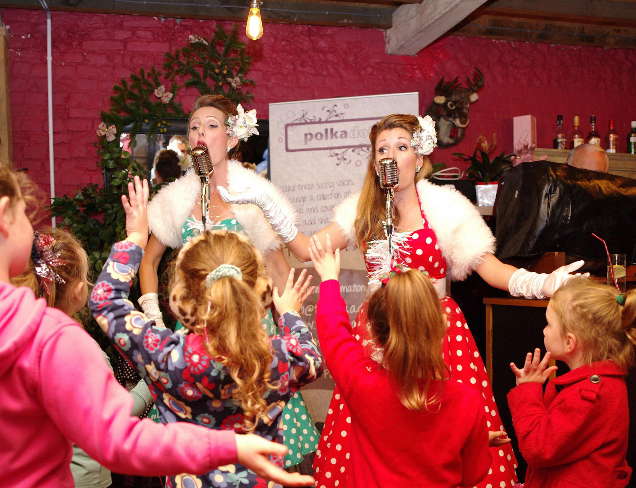 UK BAND-Polka Dots at Kids Event JOHN-HAMBLETON