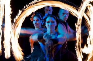 Flaming Fun – Fire Performers