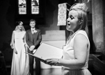 Women Singing at Wedding