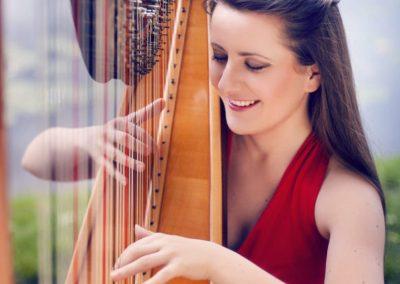 Harpist for ELLE Entertainment Event