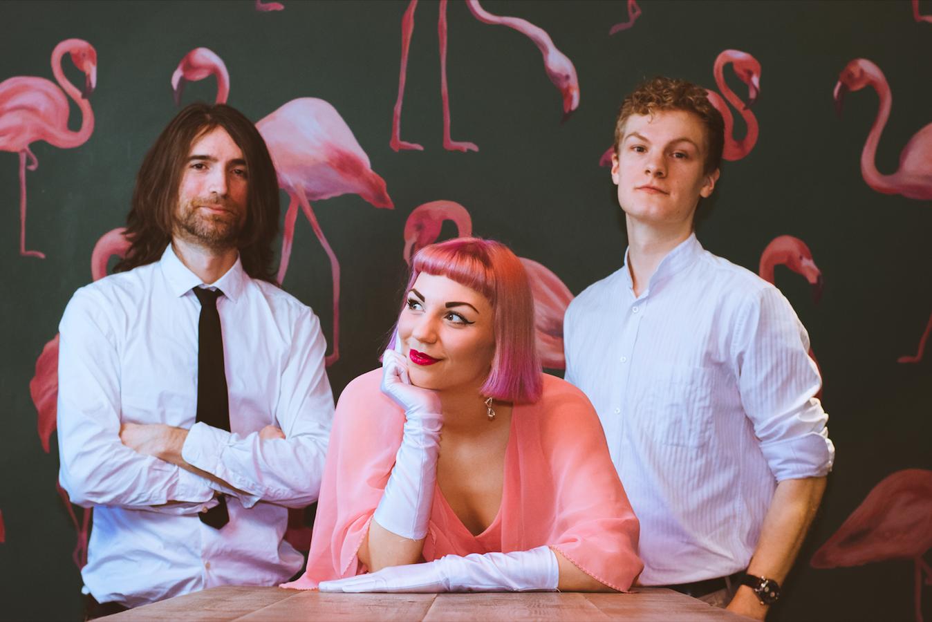Jazz Trio Flamingos background trio