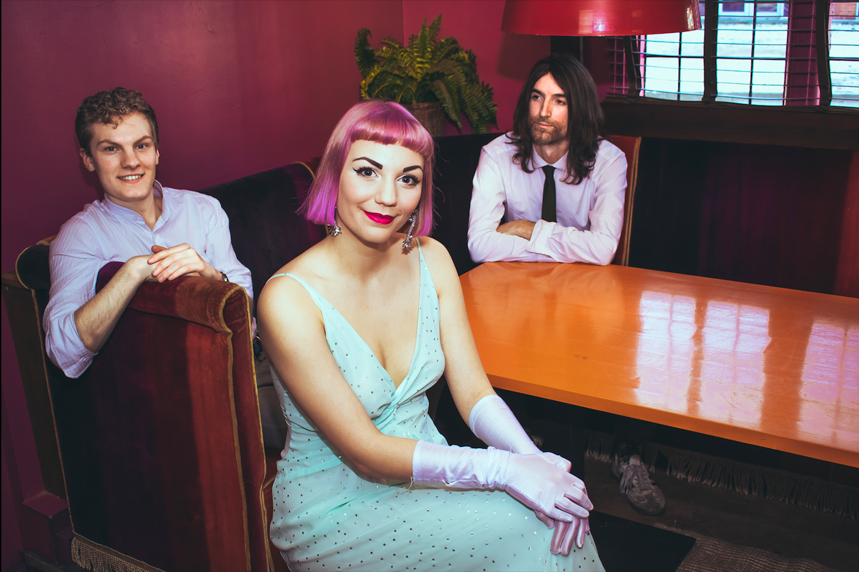 The Flamingos jazz trio musicians