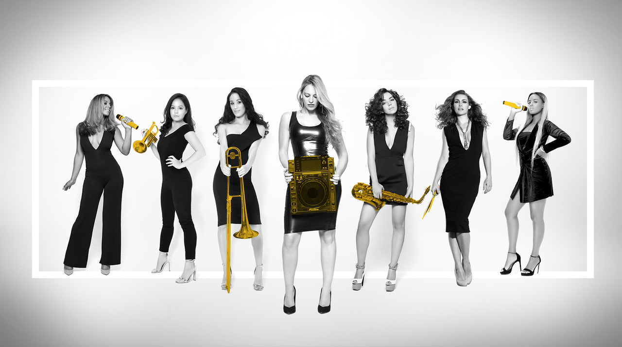 all female party band