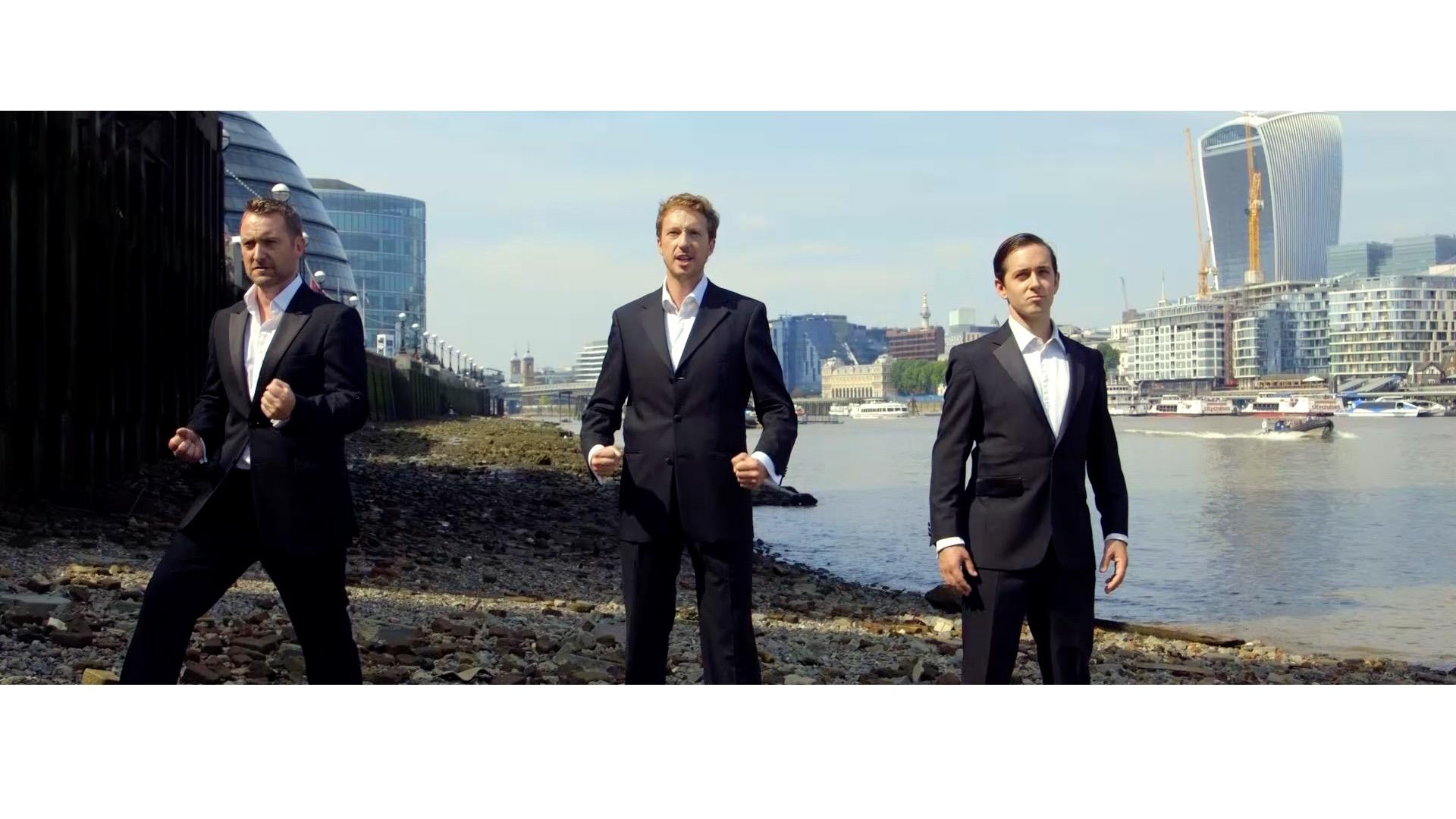 James Bond Show trio
