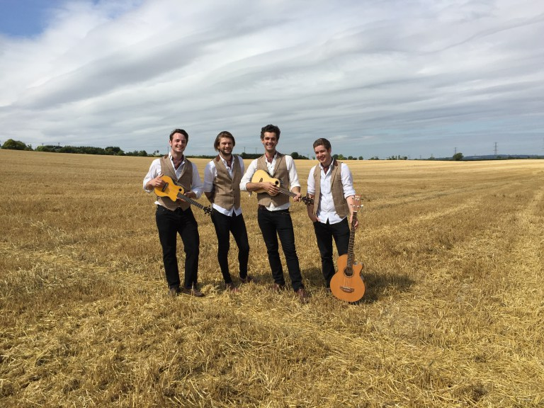 Quartet Ukeleles