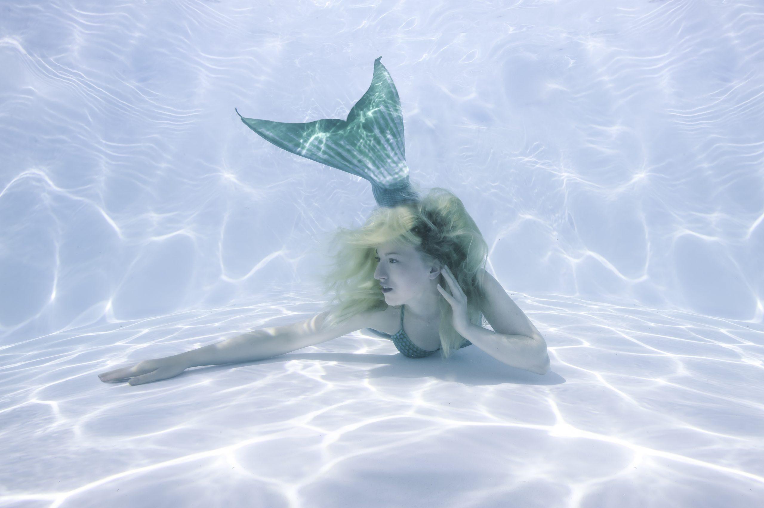 mermaid hire underwater