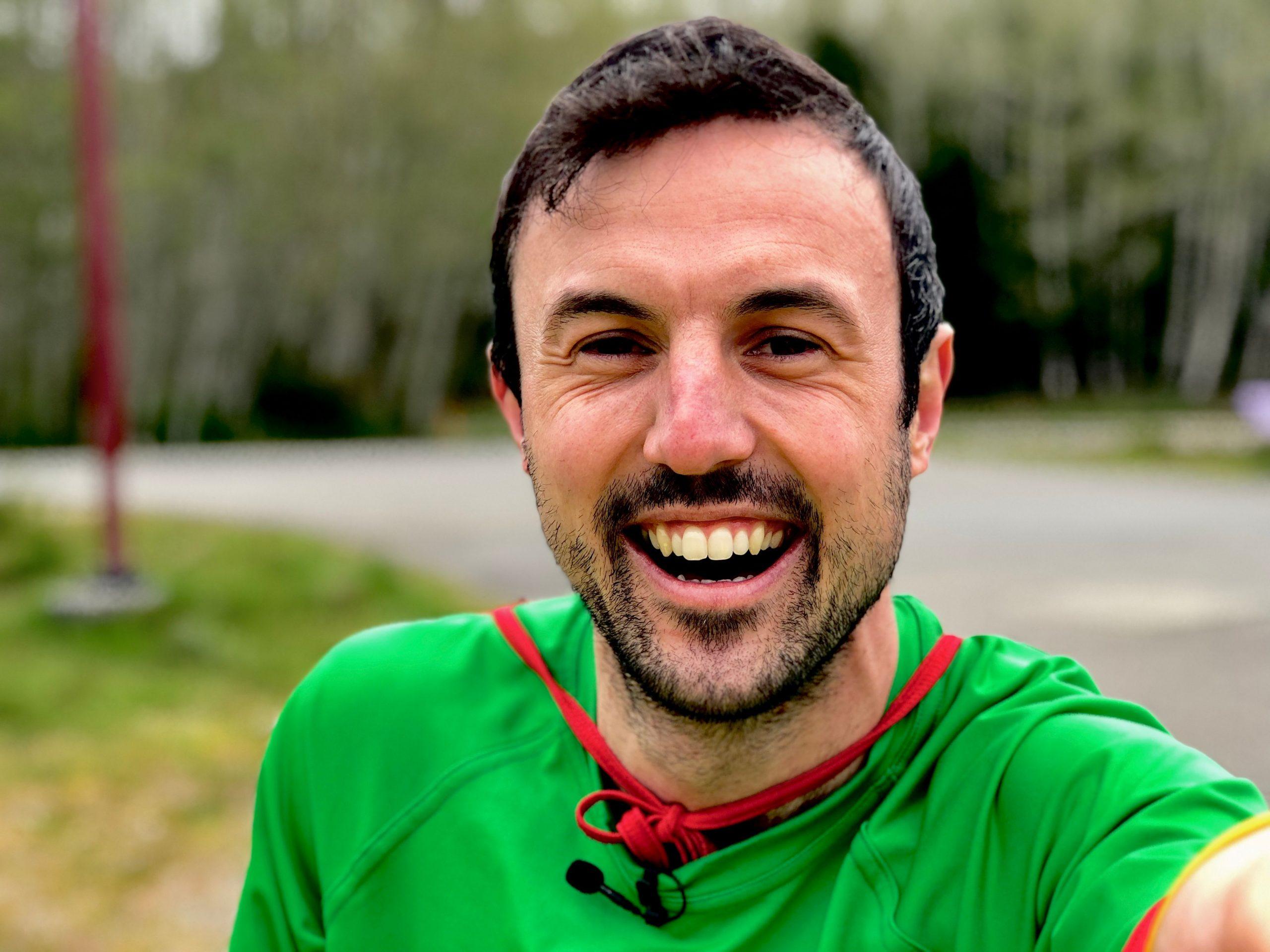 Motivational Speaker, Jamie MacDonald, known as Adventureman